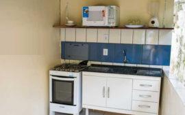Cozinha Comum Para Hóspedes da Pousada Lua Clara